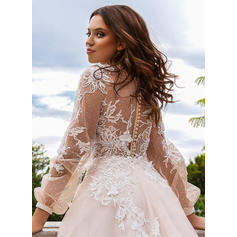 ball gown wedding dresses with train