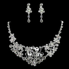 Jewelry Sets Alloy/Rhinestones Lobster Clasp Earclip Ladies' Wedding & Party Jewelry