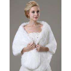 Shawl Fashion Faux Fur Other Colors Wraps