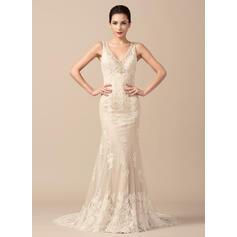 simple elegant wedding dresses plus size