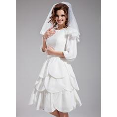 teacup length wedding dresses