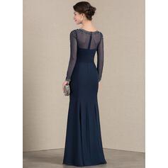 robes de soirée formelles sirène