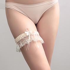 Strumpfbänder Damen Hochzeit/Lässige Kleidung Polyester mit Bowknot/Lace Strumpfband