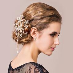 "Combs & Barrettes Wedding/Party Rock Crystal Quartz 5.91""(Approx.15cm) 5.12""(Approx.13cm) Headpieces"