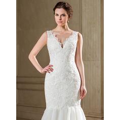vestidos de novia de encaje sirena