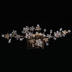 "Combs & Barrettes Wedding/Party Rhinestone/Alloy/Imitation Pearls 5.91""(Approx.15cm) 2.36""(Approx.6cm) Headpieces"