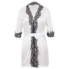 Sleepwear Casual Feminine Lace/Viscose Fiber Charming Lingerie