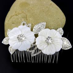 Wedding/Special Occasion/Party/Carnival Rhinestone/Alloy/Natural Shell Gorgeous Ladies Headpieces