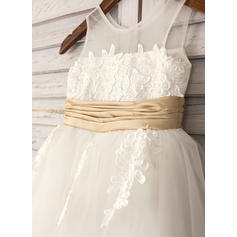 champagne flower girl dresses size 16