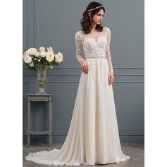 off os vestidos de noiva de ombro 2020
