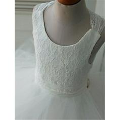 long tulle flower girl dresses