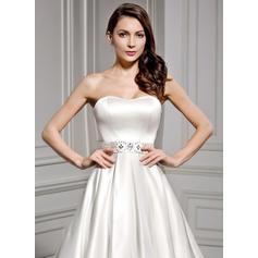 bedded vestidos de noiva curtos