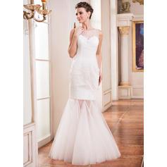 3/4 sleeve wedding dresses for women