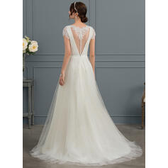 tall wedding dresses
