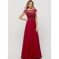 robes de soirée rouges à manches longues