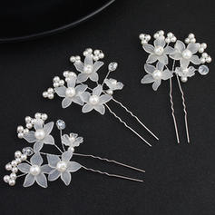 Hairpins Wedding Imitation Pearls Fashion (Sold in single piece) Headpieces