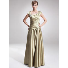 Fashion Charmeuse V-neck A-Line/Princess Mother of the Bride Dresses (008006308)