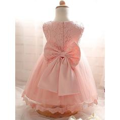peach color flower girl dresses
