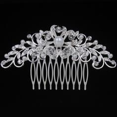 """Combs & Barrettes Wedding/Special Occasion/Party Alloy 3.94""""(Approx.10cm) 2.28""""(Approx.5.8cm) Headpieces"""