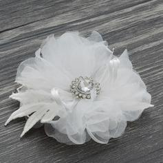 Boutonniere Round Wedding/Party Tulle The color of embellishments are shown as picture/Color & Style representation may vary by monitor Wedding Flowers