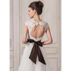 simple elegant tea length wedding dresses