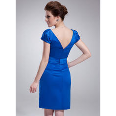 long length cocktail dresses with sleeves