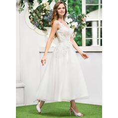 robes de mariée en satin à manches courtes