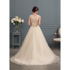 ling vestidos de noiva manga