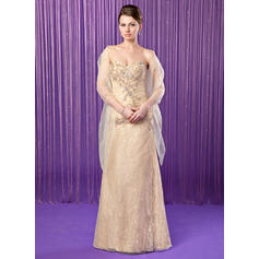 Sheath/Column Sweetheart Lace Gorgeous Mother of the Bride Dresses