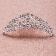 "Tiaras Wedding/Special Occasion Rhinestone/Alloy 4.33""(Approx.11cm) 1.50 ""(Approx.3.8cm) Headpieces"