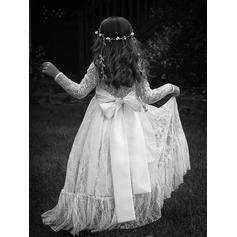 white ball gown flower girl dresses