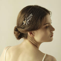 "Hairpins Wedding/Special Occasion/Party/Art photography Crystal/Alloy 2.76""(Approx.7cm) 3.55""(Approx.9cm) Headpieces"