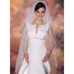 Waltz Bridal Veils Tulle One-tier Mantilla With Pencil Edge Wedding Veils