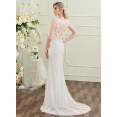 robes de mariée en dentelle curvy