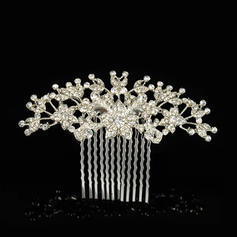 "Combs & Barrettes Wedding/Special Occasion Alloy 3.74""(Approx.9.5cm) 2.36""(Approx.6cm) Headpieces"