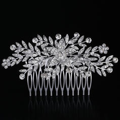 Combs & Barrettes Wedding/Special Occasion Rhinestone/Alloy Special Ladies Headpieces