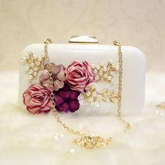 "Clutches/Satchel Wedding/Ceremony & Party Patent Leather Clip Closure 7.87""(Approx.20cm) Clutches & Evening Bags"