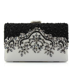 Clutches/Fashion Handbags Wedding/Casual & Shopping PU Clip Closure Fashional Clutches & Evening Bags