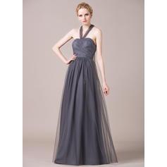 vestidos de dama de honor azul polvoriento orden en línea