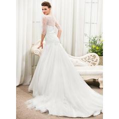 50's style tea length wedding dresses