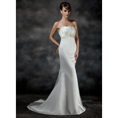 vestidos de novia cortos para novias mayores