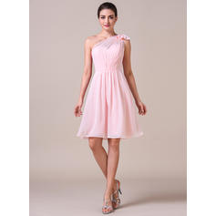 blush lace dama de honor vestidos