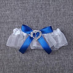 Garters Women/Bridal Wedding/Special Occasion Satin With Bowknot/Rhinestone Garter