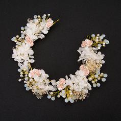Damer Glamorøse Rhinestone Pannebånd med Venetianske Perle