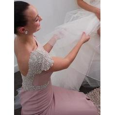 spring wedding black bridesmaid dresses