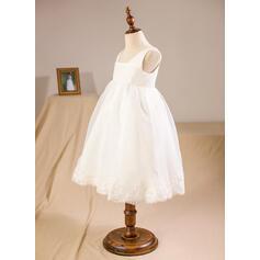 white baby flower girl dresses