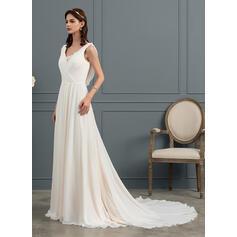 tall plus size wedding dresses