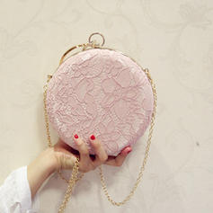 "Satchel/Totes Wedding/Ceremony & Party Lace Kiss lock closure 7.09""(Approx.18cm) Clutches & Evening Bags"