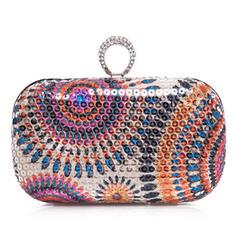 Handtaschen Hochzeit/Zeremonie & Party Satin Stutzen Verschluss Mode Clutches & Abendtaschen