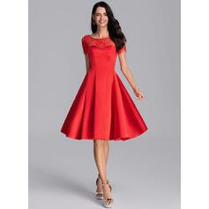 robes de cocktail en rouge
